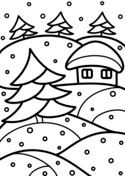 Winter Coloring Pages Free Coloring Pages