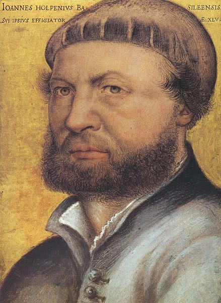 File:Hans Holbein the Younger, self-portrait.jpg