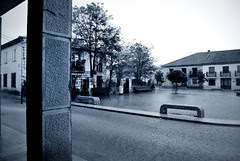 Mañana de lluvia en Cedillo de la Torre