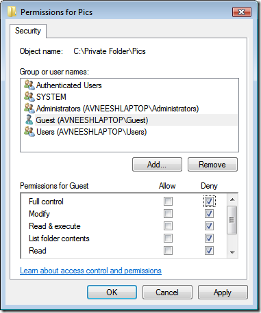 deny-security-permissions