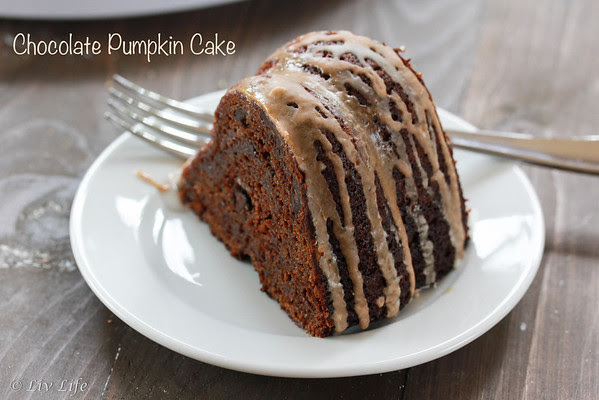 Chocolate Pumpkin Cake | Liv Life