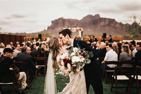 The dip is a MUST have photo from any wedding ceremony