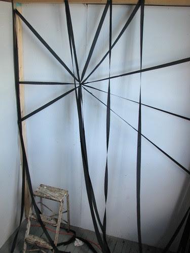 HESH MESH backdrop install
