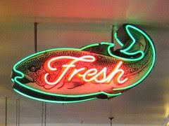 Fresh fish at City Fish