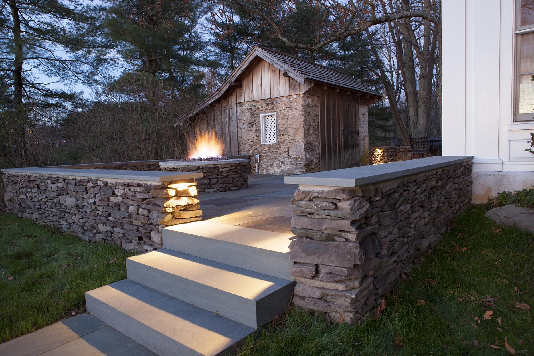 Downingtown Landscape Lighting Design Installation