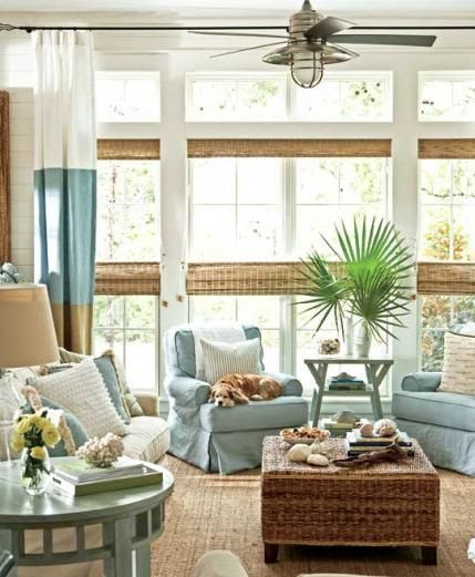 #IntDesignerChat May 20 Topic: Summer Homes – Fabric, Colors, and Furniture