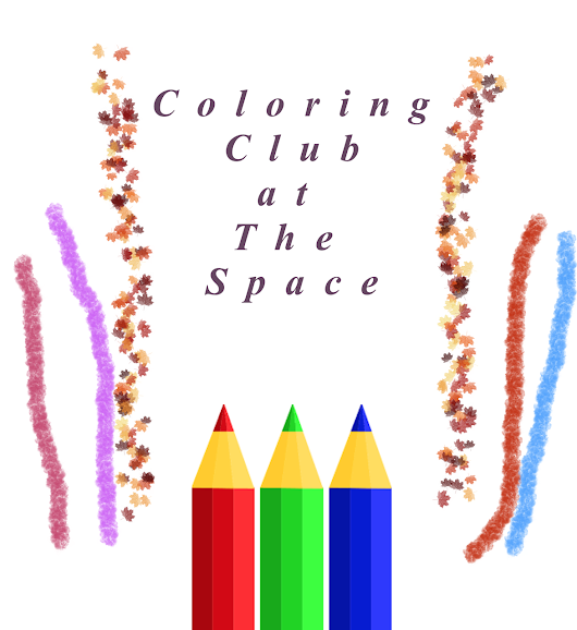 Columbus Space for Alternative Self Expression - November Coloring Club