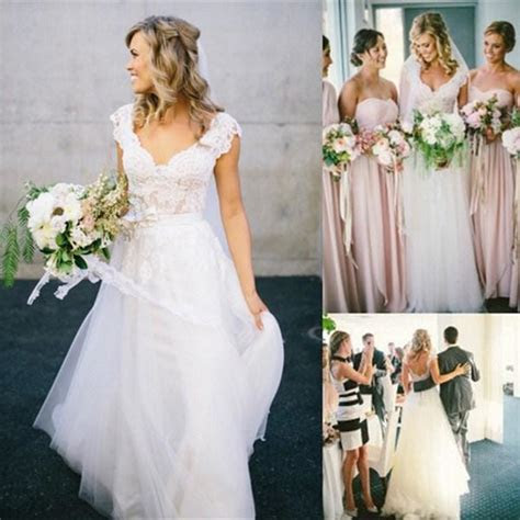 Bohemian Style Wedding Dresses 2016 Design with Long