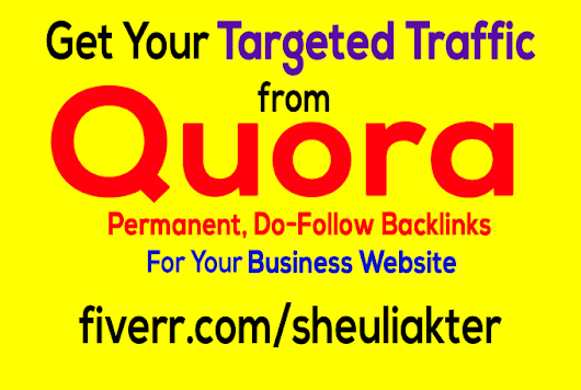 sheuliakter : I will provide you answering backlinks traffic for your business for $10 on www.fiverr.com