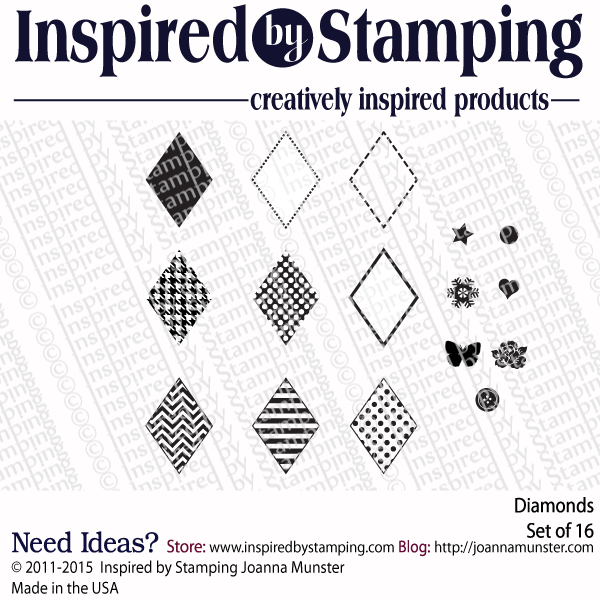Inspired by Stamping Diamonds stamp set
