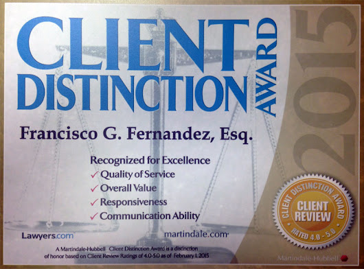 Personal Injury Awards & Recognitions | Fernandez & Viñas, LLLP - Tampa and Miami Personal Injury Attorneys