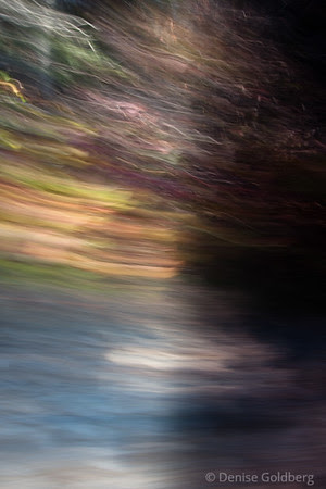 swirling colors, accidental