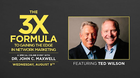 The 3X Formula to Gaining the Edge in Network Marketing