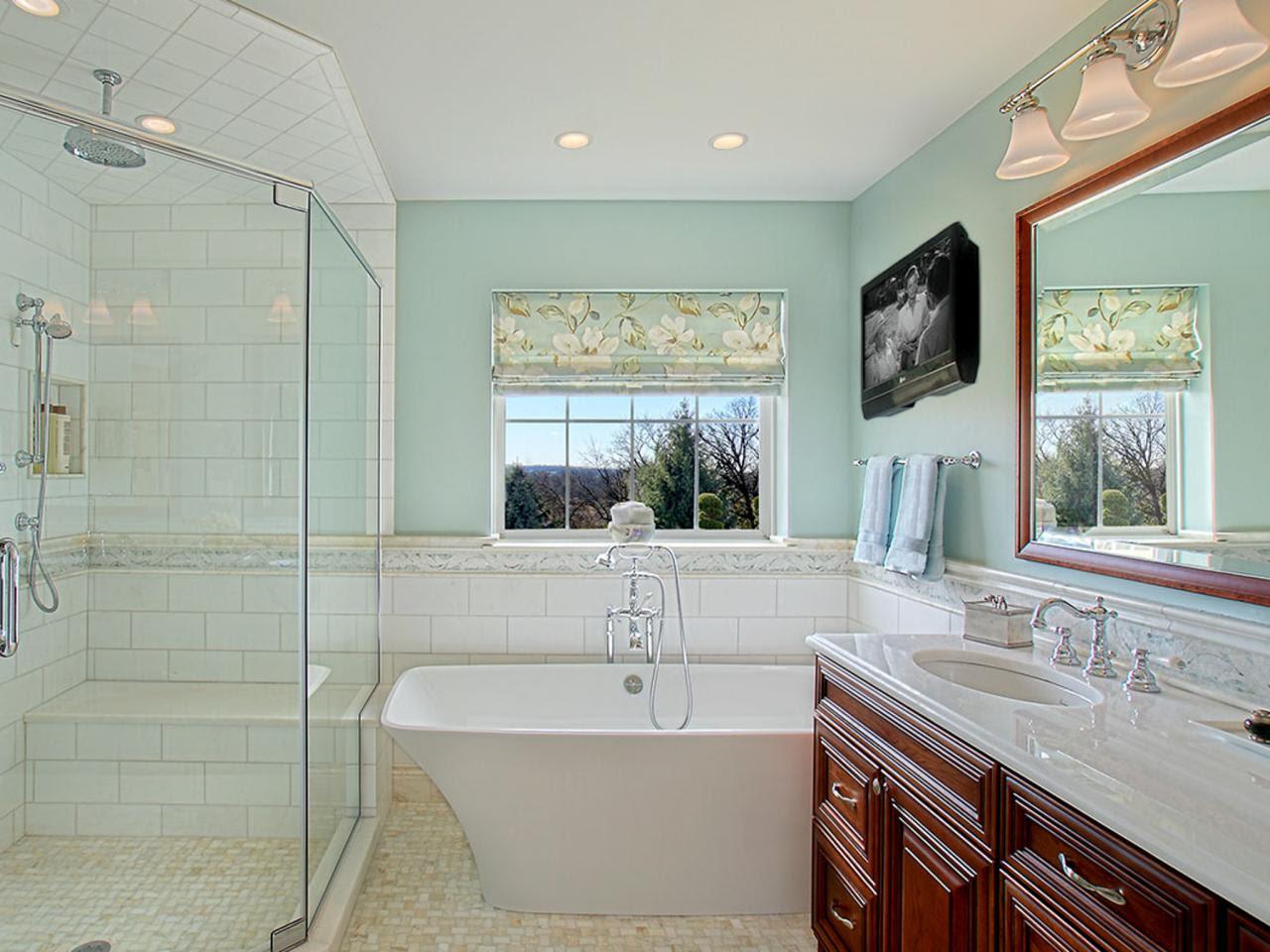 Master Bathroom Makeover With Luxurious Tub | Joan Suzio ...