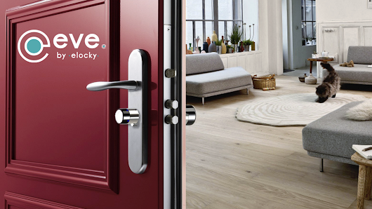 eVe by Elocky La Serrure Connectée | The Smart Cylinder Lock