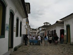 Parati old town