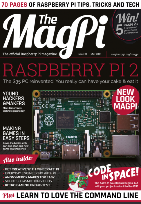 All change: meet the new MagPi! | Raspberry Pi