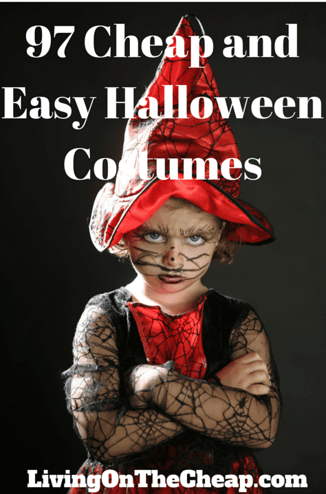 97 cheap and easy Halloween costumes - Living On The Cheap