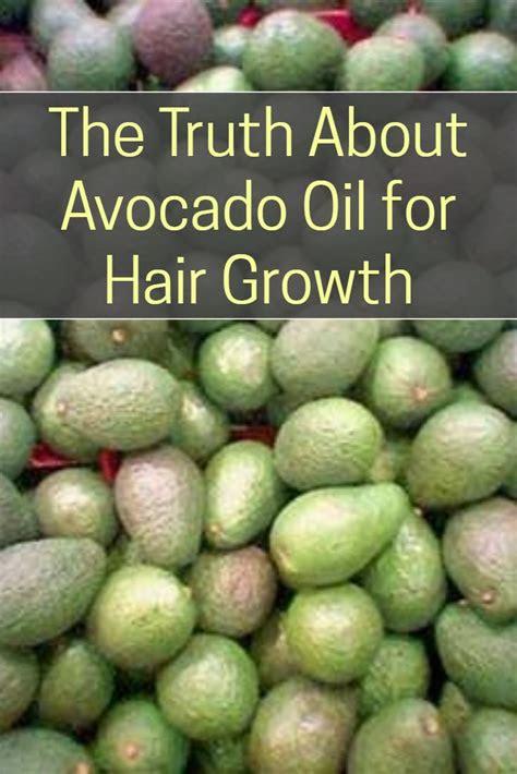 truth  avocado oil  hair growth superfood