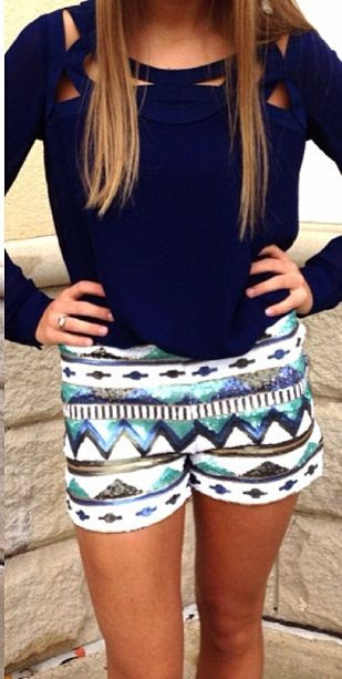 those shorts!!