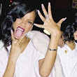 Thank goodness that's over! Delighted Rihanna can't hide her good mood as she finishes 777 tour