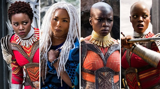 The Radiant Beauty of the Melanated Queens of Black Panther
