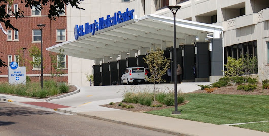 St. Mary's Medical Center beautification project completed