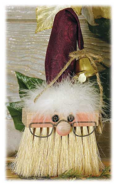 Paint brush Santa