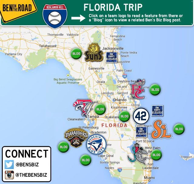Florida Road Map 2015.Florida Spring Training Map 2015 Florida Map 2018