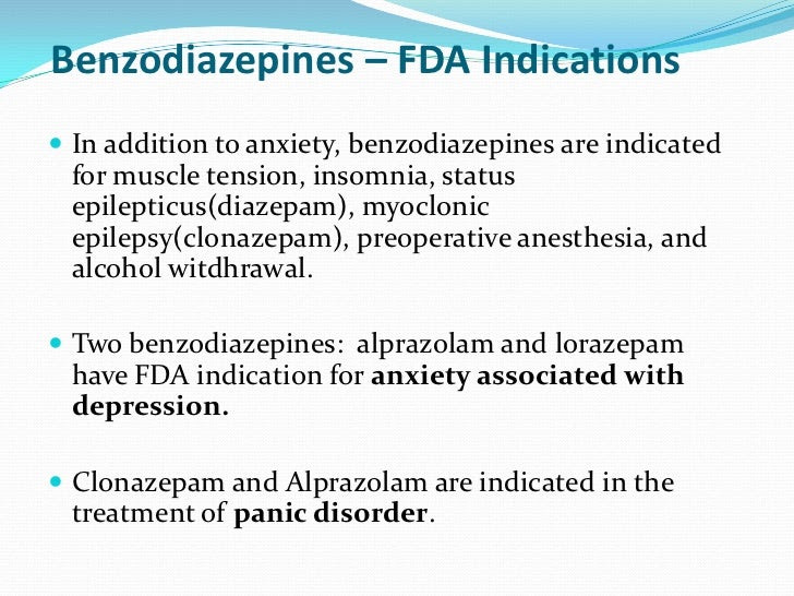 Lorazepam Depression - Depression In Patients Receiving ...