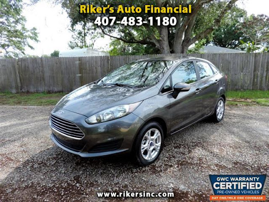 Used 2015 Ford Fiesta for Sale in Kissimmee  FL 34744 Riker's