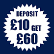 Deposit £10 Get £60 On Casino, Slots & Bingo Plus Free Spins