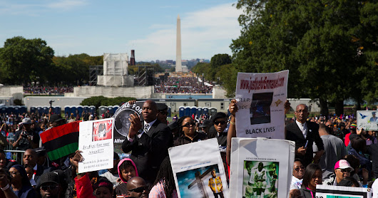 Thousands pack D.C. for 20th anniversary of Million Man March