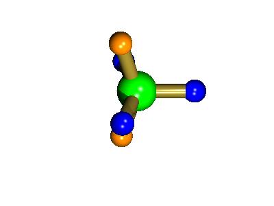 square-based pyramidal intermediate in Berry pseudororation