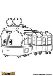Coloriages Robot Trains à Imprimer Coloriages Dessins Animes