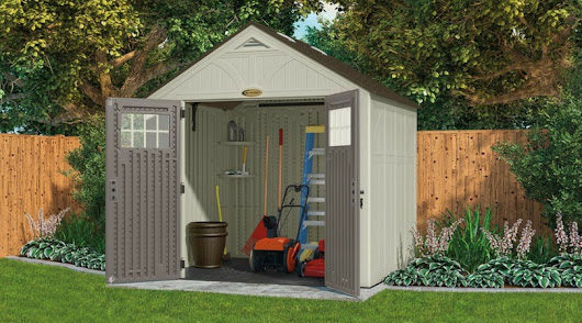 Suncast Tremont 8 x 7 ft Rot-Proof Shed