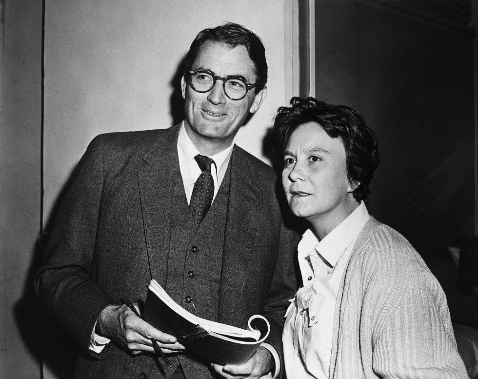 Gregory Peck y Harper Lee en 'Matar a un ruiseñor'
