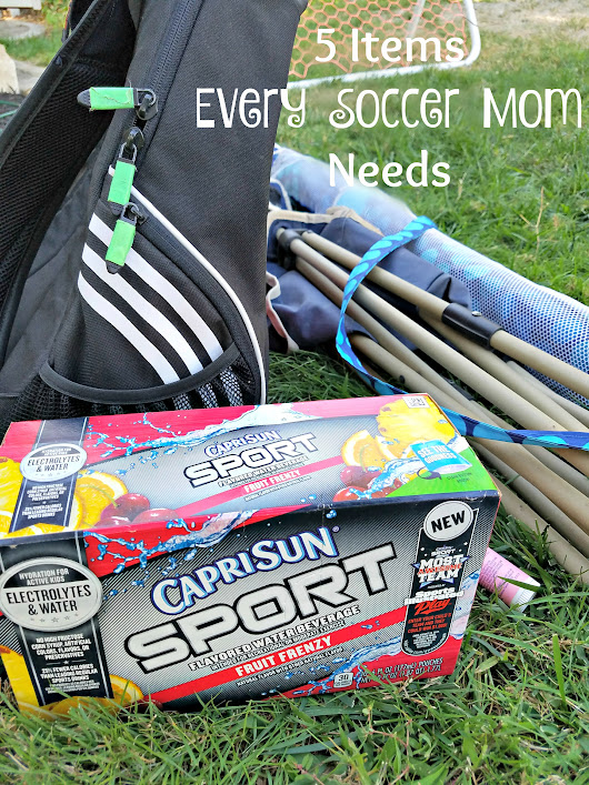 5 Items Every Soccer Mom Needs - Clever Housewife