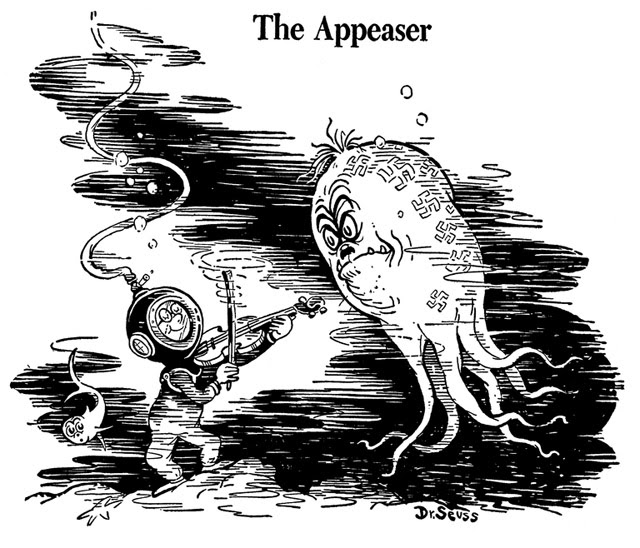 "Theodor Seuss Geisel, ""The Appeaser"""