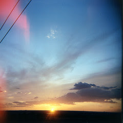 Holga Sunset