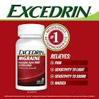 Excedrin Migraine Pain Reliever Aid, Capsules - 300 count