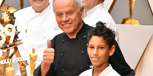 Wolfgang Puck Already Made The Oscars Political With Trump Joke
