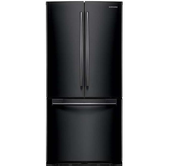 French Door Refrigerators Black Samsung 20 Cu Ft