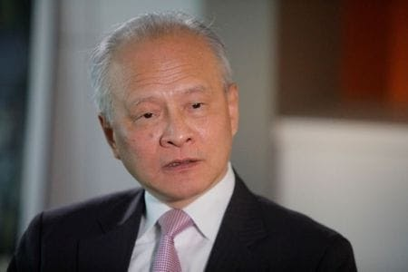 Border dispute should not dominate China, India ties - Chinese envoy to U.S.