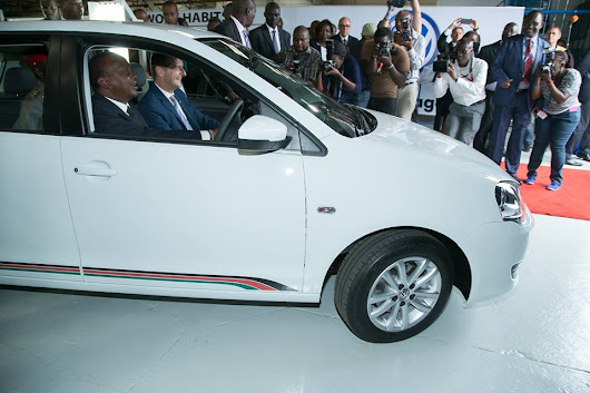 President Kenyatta inaugurates Volkswagen production facility - Capital Business