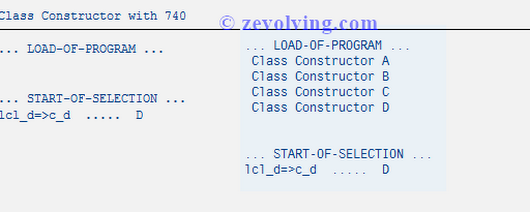 ABAP 740 - Is CONSTANT not a Static Attribute anymore?