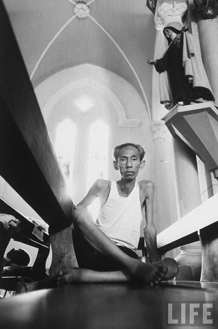 In Pnompenh, Cambodia - Vietnamese living in Cambodia await interrogation in Church (6)