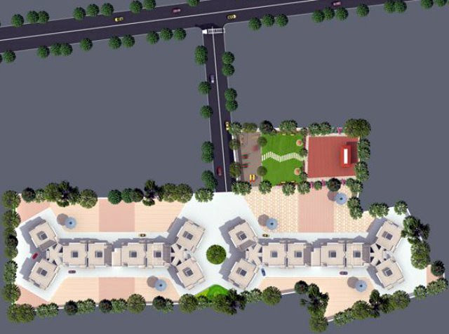 Kumar Properties Kumar Palmcrest Pisoli Pune Layout Plan