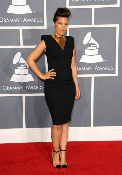 Singer Alicia Keys arrives at the 54th Annual GRAMMY Awards held at Staples Center on February 12, 2012 in Los Angeles, California.