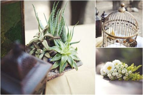 Outdoor Ivory and Taupe Woodsy California Wedding